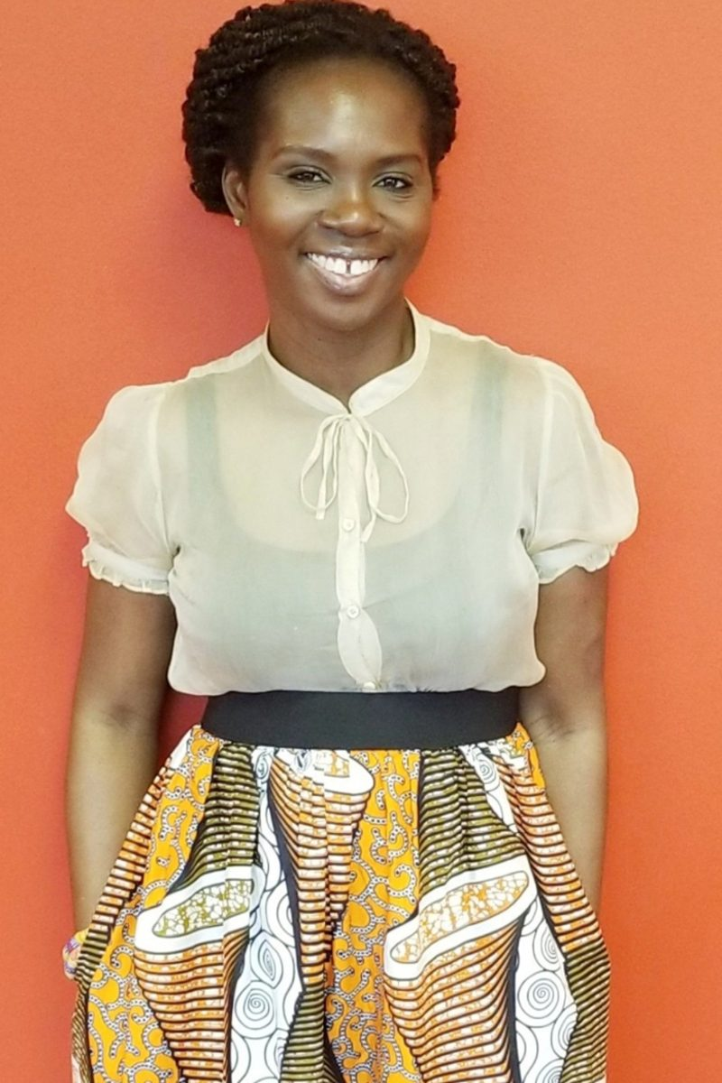 Felicia Apprey Agyare the founder of The African LIFE