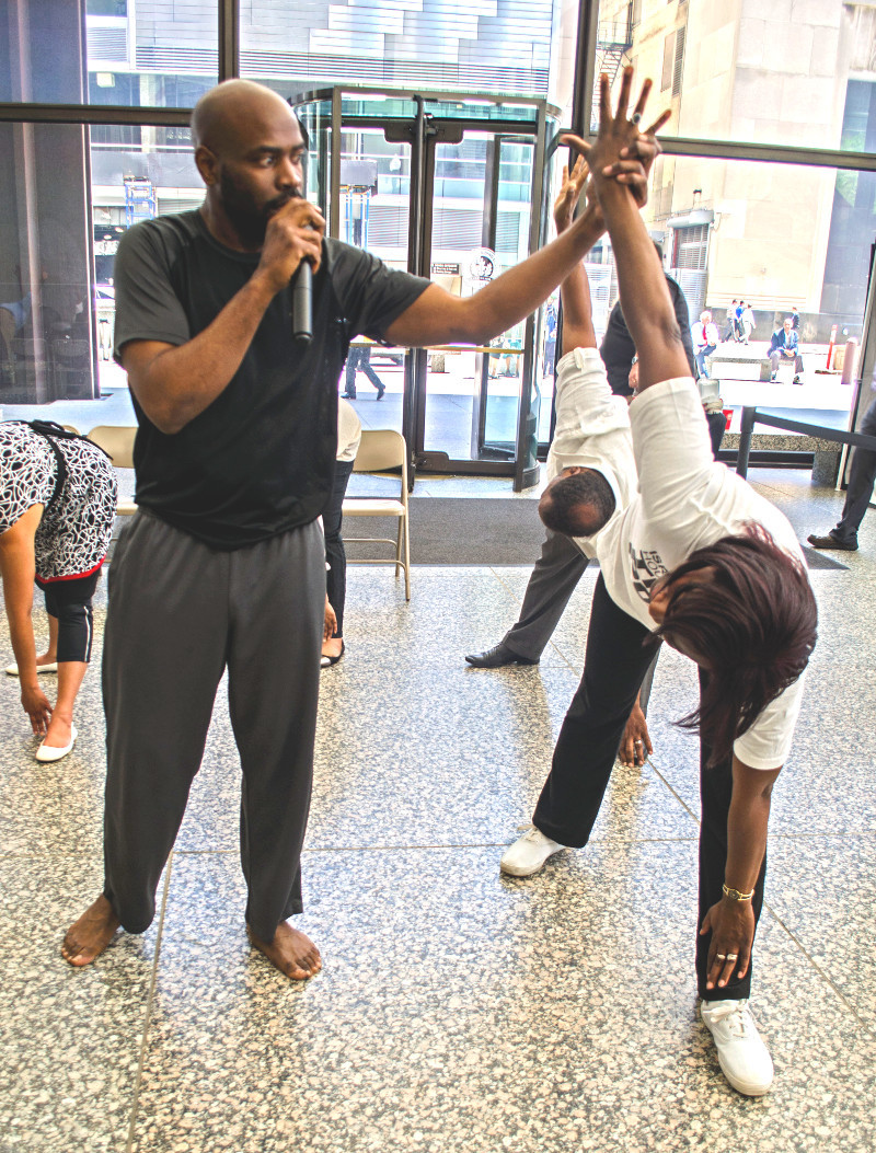 Akhu Ausar: yoga trainer, holistic lifestyle transformation consultant